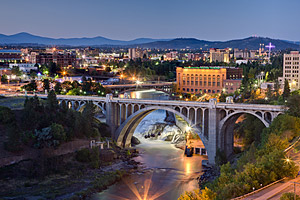 River Front Park in Spokane Washington