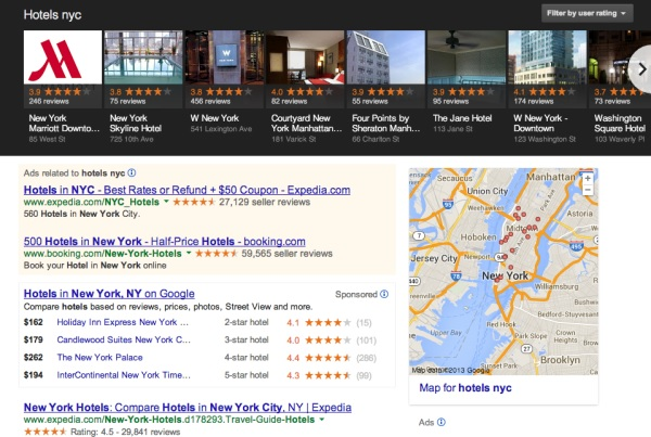 Google Carousel for local search