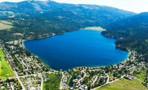 Liberty Lake, WA Arial View