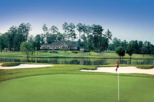 Liberty Lake golf course green