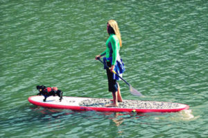 paddle boarding on coeur d alene lake