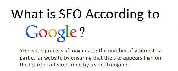What is SEO According to Google