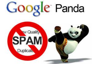 Google Panda taking out spam