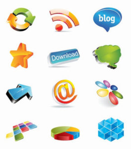 sample of vector images for web designers