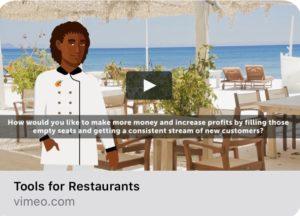 restaurant explainer video